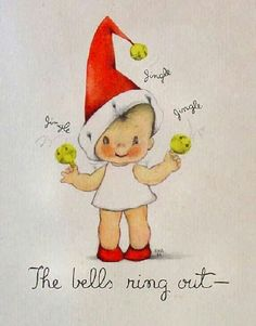 Bells ring out Christmas Paper Crafts, Christmas Photo Cards, Christmas Love, Retro Christmas, Christmas Bells, Christmas Pictures, Christmas Angels, Christmas Projects, All Things Christmas