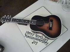 Phenomenal 100 Best Guitar Cakes Images Guitar Cake Music Cakes Rock Star Funny Birthday Cards Online Barepcheapnameinfo