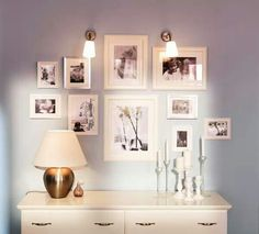 56 Ideas For Wall Gallery Sizes Frame Layout Inspiration Wand, Frame Layout, Home Decoracion, Decoration Bedroom, Frame Decoration, Decor Room, Wall Decor, Ikea Bedroom, Bedroom Ideas