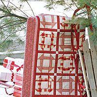 Red and White Churn Dash