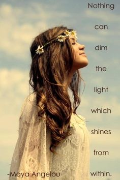 The light within me will never be dimmed!!!    SHINE BRIGHT LIKE A DIAMOND!!!!