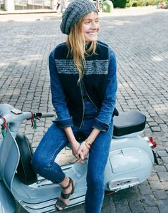 Exclusive: Constance Jablonski Goes on a Roman Holiday for Madewell's Fall Campaign