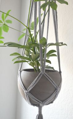 DIY Tutorial: Makramee Blumenampeln selber machen I Hängeampeln I ...
