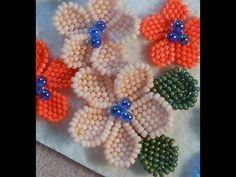 Video: B&B Flower Project ~ Seed Bead Tutorials
