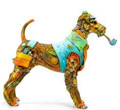 Sculptor Nano Lopez. Sherlock