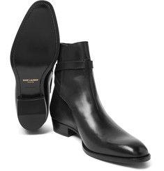 Saint Laurent - Leather Jodhpur Boots