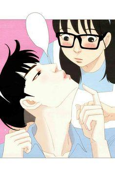 Spirit Finger - Baeblue Tiba-tiba Tersipu Malu Manga Couple, Couple Art, Couple Illustration, Character Illustration, Manhwa Manga, Anime Manga, Spirit Fingers Webtoon, Anime Couples, Cute Couples