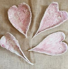 Platter, Heart Shapes, Stoneware, My Etsy Shop, Snacks, Trending Outfits, Unique Jewelry, Handmade Gifts, Pink