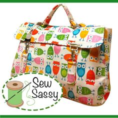 Kathleen CarryAll  INSTANT DOWNLOAD  PDF Sewing by thecrochetdiva, $9.00