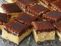 Vaníliás mákos kekszes sütemény
