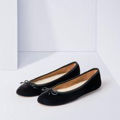 Anna Indoor Shoe - Black Velvet