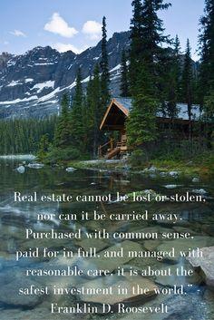 Franklin D Roosevelt Real Estate Quotes