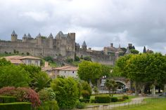 """Carcasonne  -Chateau near France/Spain border  -""""Robin Hood Prince of Thieves"""" Filmed here  -Visited Spring of 1999"""