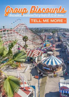 San Diego's Beachfront Amusement Park & Entertainment Center – Belmont Park