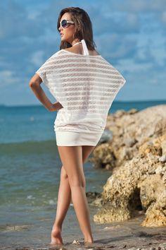 beach dress white / Strandkleid in weiß