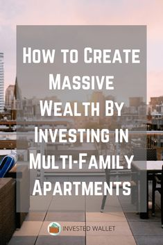 Do you want to create massive wealth investing in multi-family apartments via investment real estate? Investment Property For Sale, Income Property, Rental Property, Flipping Homes, Small Business Organization, Wealth Quotes, Creating Wealth, Family Apartment, Real Estate Development