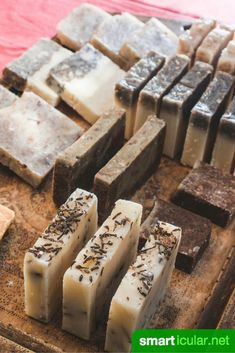 Make soap yourself - step-by-step instructions for beginners - seife - Homemade Soap Recipes, Homemade Gifts, Homemade Beauty, Diy Beauty, Beauty Hacks, Amazing Animals, Diy Shampoo, Homemade Cosmetics, Diy Presents
