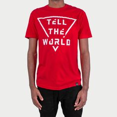 """""""Reach Records Lecrae 'Tell The World' T-Shirt 