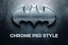 chrome psd style freebie