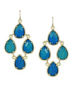 Kendra Scott Carlone Earrings in Blue $58.00