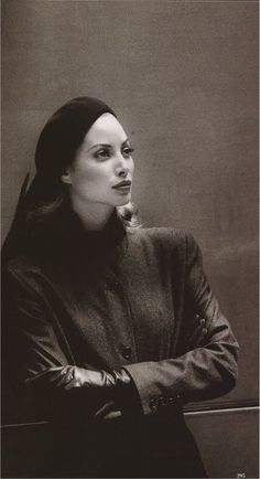 HARPER'S BAZAAR SEPTEMBER 1992, Christy Turlington in Calvin Klein Collection