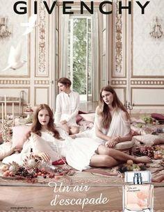 Colinne Michaelis & Sara Blomqvist - Givenchy UN AIR D' ESCAPE Fragrance 2013 (S/S 13)
