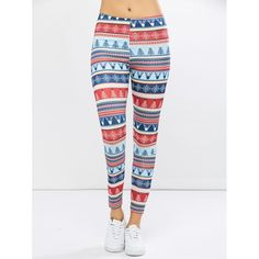 9.35$  Watch now - http://di8is.justgood.pw/go.php?t=202823904 - Christmas Ornate Print Leggings 9.35$