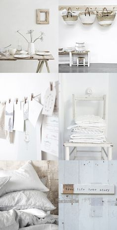 cottage chic in pure white.