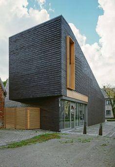 casa unifamiliar · tratamiento fachada obra vista