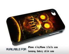 The Legend of Zelda Mask Majora - for iPhone 4/4S,5 case iphone 4/4s/5 Case Hard Plastic Cover