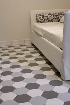 Pavimento in ceramica HEXATILE by EQUIPE CERAMICAS | casa ...