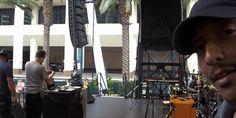 Praiz-B getting ready to rock. #vidcon #vidcon2015