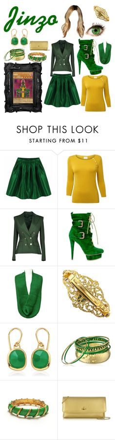 """""""Yu-Gi-Oh! Cards - Jinzo"""" by satanspixie ❤ liked on Polyvore featuring Chicnova Fashion, EAST, Tonello, 1928, Monica Vinader and Vivienne Westwood"""