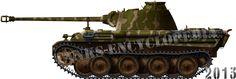 Panther Ausf.G, Paris, 1944