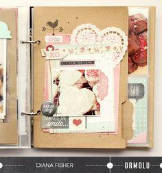 @Diana Avery Fisher | Ormolu & Basic Grey Project Life swap