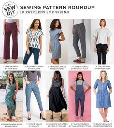 DIY Roundup –10 Sewing Patterns for Spring | Sew DIY