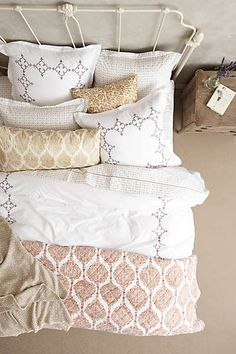 master bedroom bedding.