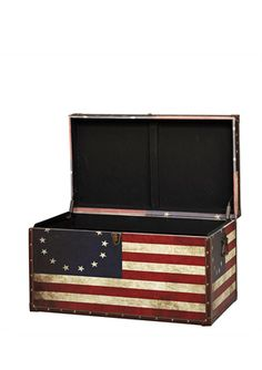 Antique Flag Coffee Table