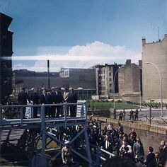 Kennedy in Berlin. This Day in History: Aug 13, 1961: Berlin is divided