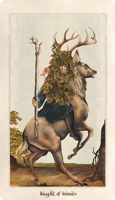 Pagan Otherworlds Tarot. Earthy and opulent imagery.