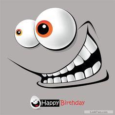 Free Set Of Smile Postcard Happy Birthday Design Vector 03 Download