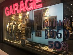 Garage Holiday 2016 -  Holiday Window - Woodfield Mall, Chicago Suburbs Nov 2016
