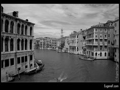 The Grand Canal #ItalianB&WArchitecture #freewallpapers