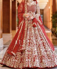 Baraat bride dress inspo - New Ideas Latest Bridal Dresses, Bridal Mehndi Dresses, Asian Bridal Dresses, Bridal Dress Design, Wedding Dresses For Girls, Bridal Outfits, Wedding Girl, Wedding Shit, Pakistani Bridal Lehenga