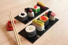 #sushi #icecream #summer