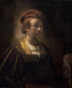 Rembrandt - Self-portrait, 1650 - Widener collection