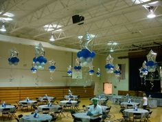 sports banquet decorating ideas | Found on abovetheresteventdesigns.com