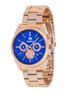 f27ce7b51208 Reloj Marea de Mujer Brazalete de acero e Ip rosa