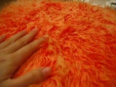 Dying Fake Fur With Acrylic Paint