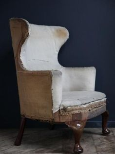 Wing chair, Antique Chairs & Armchairs, Drew Pritchard: